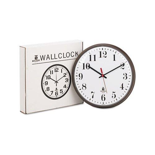 """Chicago Lighthouse For The Blind 12.75"""" Quartz Slimline Wall Clock"""