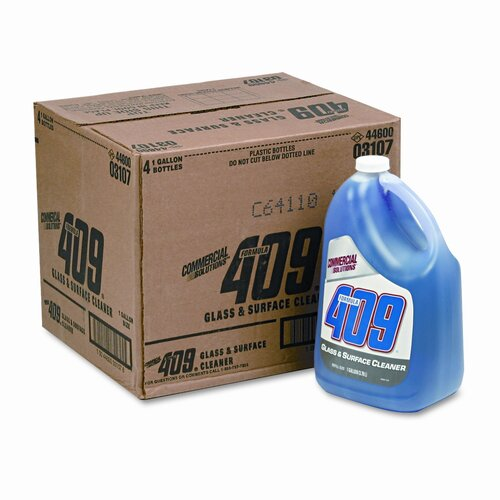 Clorox Company Formula 409 Glass & Surface Cleaner, 1gal Bottle, 4/carton