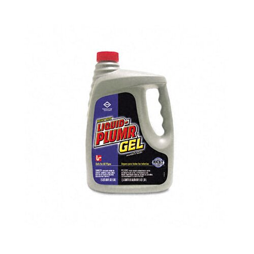 Clorox Company Liquid Plumr Heavy-Duty Clog Remover, 80oz Bottle, 6/carton