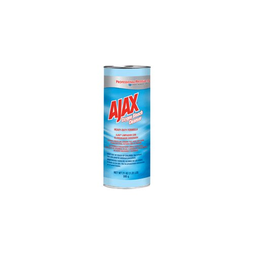 Colgate Palmolive Ajax Oxygen Bleach Powder Cleanser, 21 Oz. Container