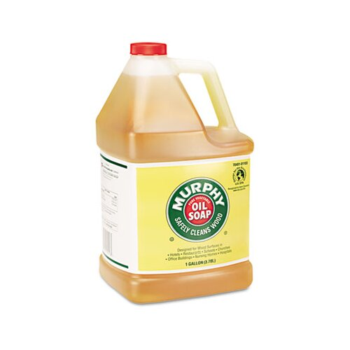 Colgate Palmolive Murphy Oil Soap Soap Concentrate, 1 Gal Bottle, 4/Carton