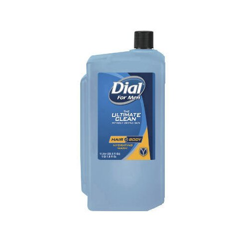 Dial® Complete® For Men Hair and Body Hydrating Wash - 1 Liter