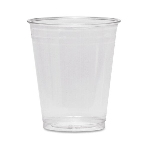 Dixie Cold Drink Cups, 10 oz., Clear Plastic