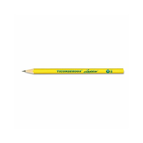 Dixon® Ticonderoga Laddie Woodcase Pencil without Eraser, 12/Pack