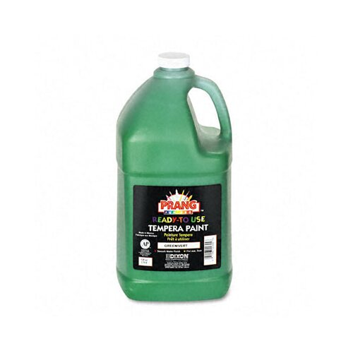 Dixon® Ready-to-Use Tempera Paint, Green, One Gallon