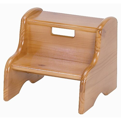 Little Colorado Kid S Solid Wood Step Stool Amp Reviews