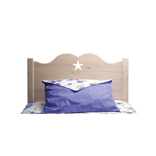 Little Colorado Scalloped Star Panel Twin Headboard