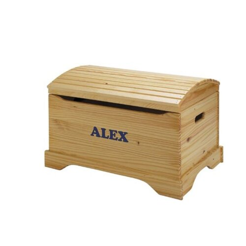 Little Colorado Personalized Captain's Chest Toy Box