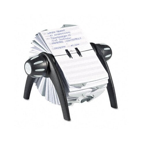 Durable Office Products Corp. Telindex Rotary Address Card File Holds 500 Cards