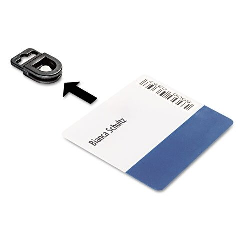 Durable Office Products Corp. Card Fix Card Holder, 50/Box