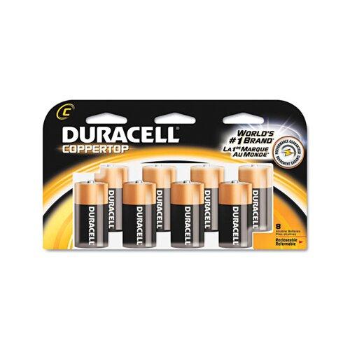 Duracell C-Cell Coppertop Alkaline Batteries