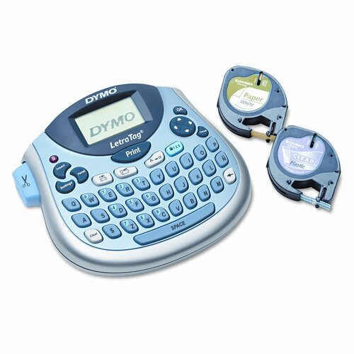Dymo Corporation Letratag Plus Personal Label Maker, 2 Lines, 6-7/10W X 2-4/5D X 5-7/10H
