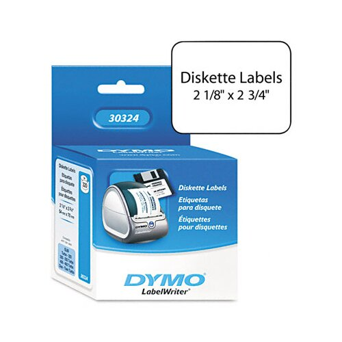 Dymo Corporation Diskette Labels, 320/Box