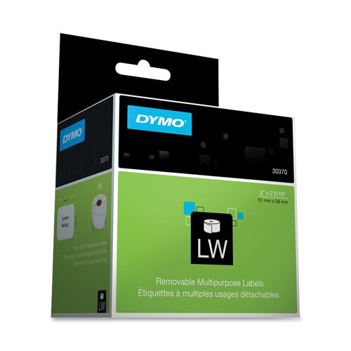 Dymo Corporation Multipurpose Labels, 250/Box