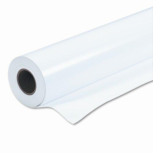 """Eastman Kodak Poly Poster Satin Plus Paper, 8lb, 36""""w, 200'l, White, Roll"""