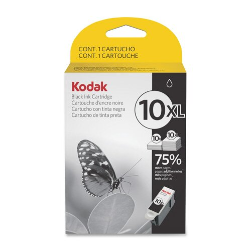 Eastman Kodak Ink Cartridge, 10XL, 770 Page Yield, Black