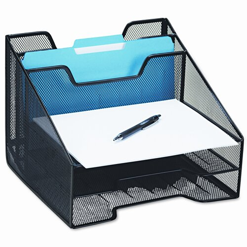 Eldon® Rolodex Combination Sorter, 5 Sections, Mesh