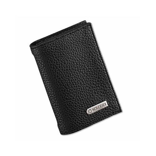 Eldon® Low Profile Personal Card Case, 36-Card Capacity, 2 3/4 x 4, Black