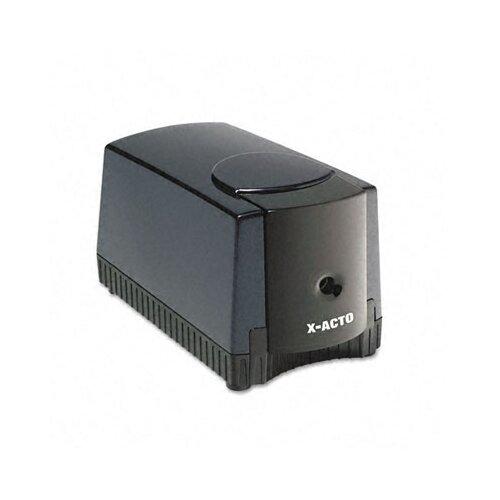 Elmer's Products Inc Deluxe Heavy-Duty Desktop Electric Pencil Sharpener, Black/Gray