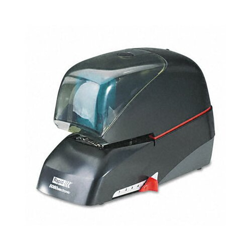 Elmer's Products Inc Rapid 5080E Heavy-Duty Flat Clinch Electric Stapler, 90-Sheet Capacity