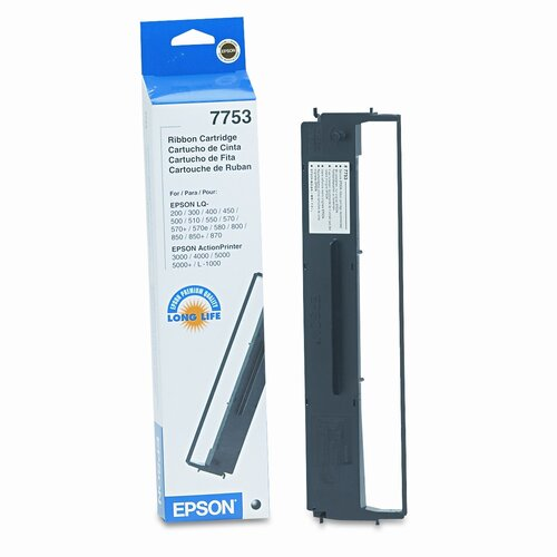 Epson America Inc. 7753 Printer Ribbon, 11 Yield