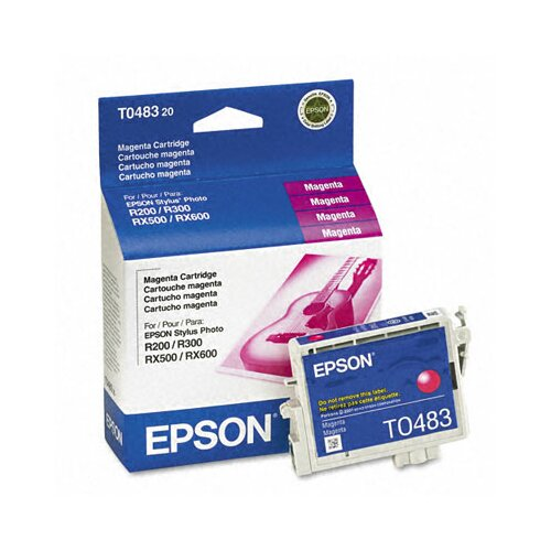 Epson America Inc. T048320 Quick-Dry Ink, 430 Page-Yield