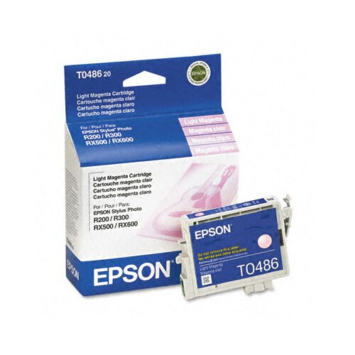 Epson America Inc. T048620 Quick-Dry Ink, 430 Page-Yield