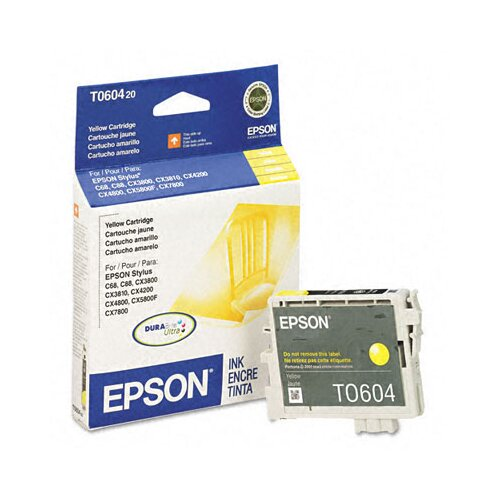 Epson America Inc. T060420 Durabrite Ink, 450 Page-Yield