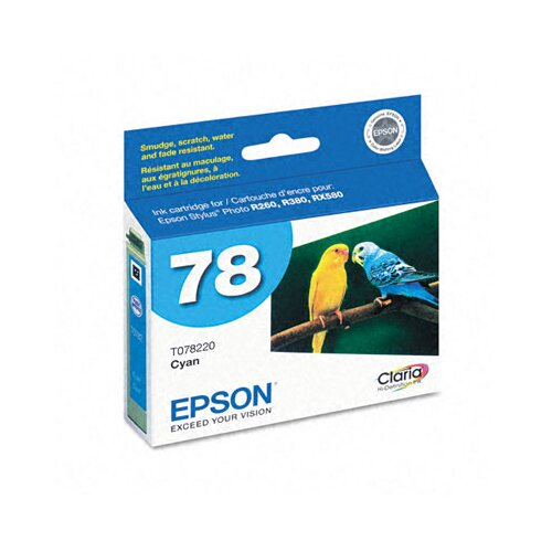 Epson America Inc. T078220 Claria Ink, 430 Page-Yield