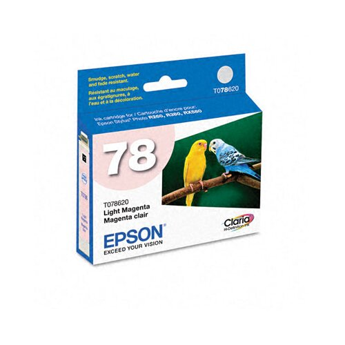 Epson America Inc. T078620 Claria Ink, 430 Page-Yield