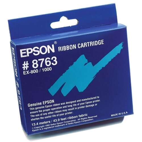 Epson America Inc. Black Fabric Ribbon Cartridge