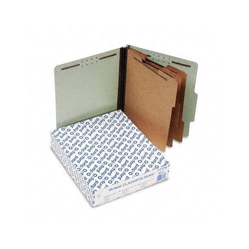 Esselte Pendaflex Corporation Pressboard Classification Folders, Letter, Eight-Section, 10/Box