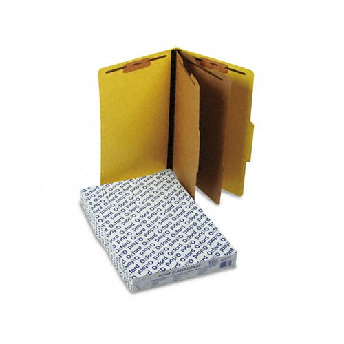 Esselte Pendaflex Corporation Pressguard Classification Folders, Legal, Six-Section, 10/Box