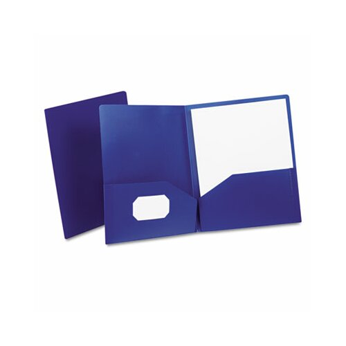 Esselte Pendaflex Corporation Oxford Twin-Pocket Polypropylene Portfolio