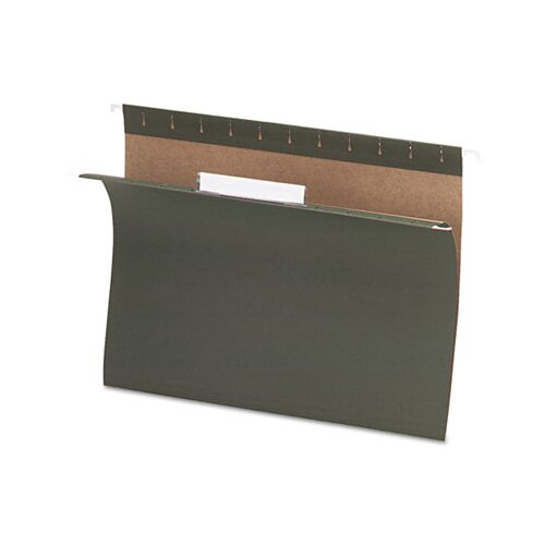 Esselte Pendaflex Corporation Essentials Hanging File Folders, 1/3 Tab, Letter, 25/Box