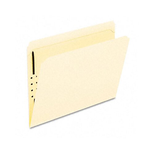 Esselte Pendaflex Corporation Manila One-Fastener Classification Folders with Straight Tabs, Letter, 50/Box