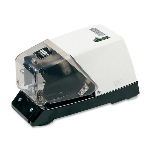 Esselte Pendaflex Corporation Rapid R100 Commercial Electric Stapler, 210 Strip Capacity, White