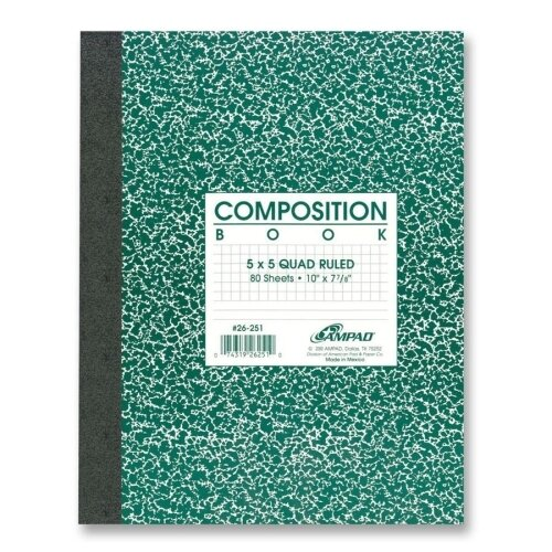 Esselte Pendaflex Corporation Graph Ruled Composition Book