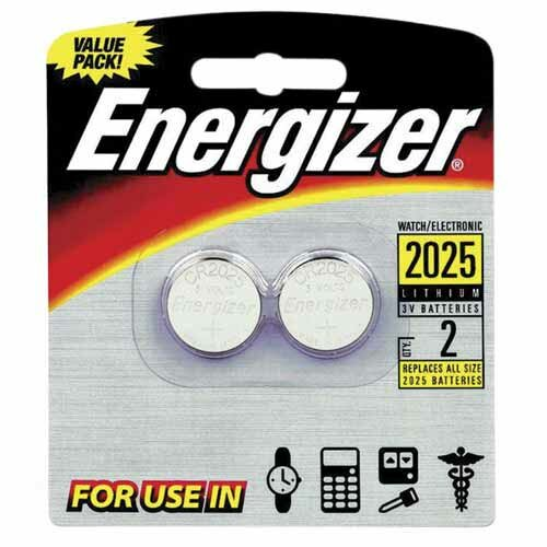 Energizer® Lithium Batteries, 3.0 Volt, For CR2025/DL2025/LF1/3V