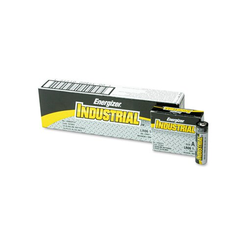 Energizer® Industrial AA Alkaline Batteries