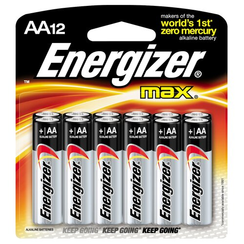 Energizer® AA Max Alkaline Battery