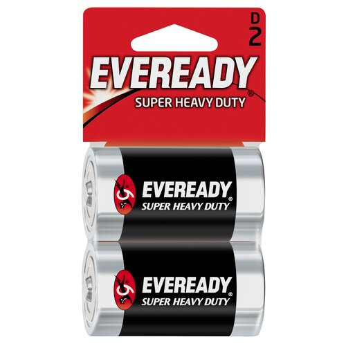 Energizer® D Cell Heavy-Duty Battery (2 Pack)