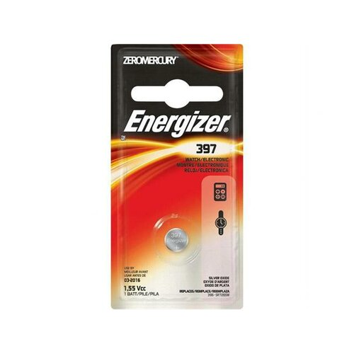 Energizer® 397 Watch and Calculator Battery