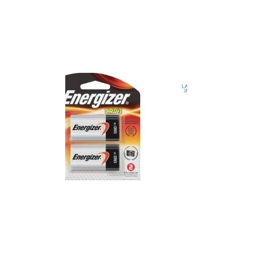 Energizer® e2 Lithium Photo Battery, CRV3, 3V, 2/Pack
