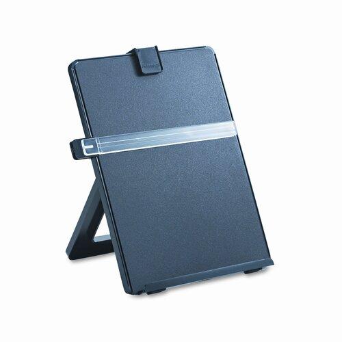 Fellowes Mfg. Co. Non-Magnetic Letter-Size Desktop Copyholder, Plastic
