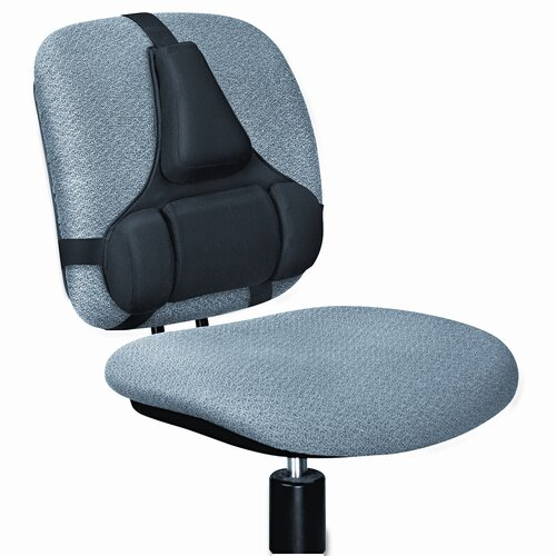 Fellowes Mfg. Co. Professional Series Back Support, Memory Foam Cushion