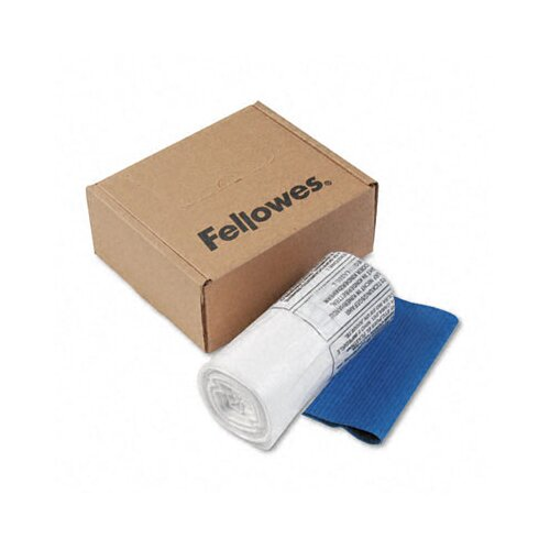 Fellowes Mfg. Co. 36052 Powershred Shredder Bags, 6-7 Gal Capacity, 100 Bags and Ties/Carton