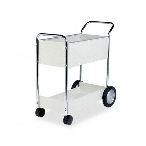 "Fellowes Mfg. Co. 40.25"" Steel Mail Cart"