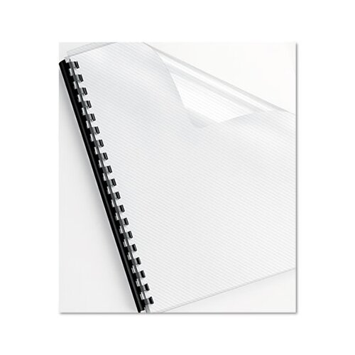 Fellowes Mfg. Co. Futura Presentation Binding System Covers, 11-1/4 X 8-3/4, 25/Pack