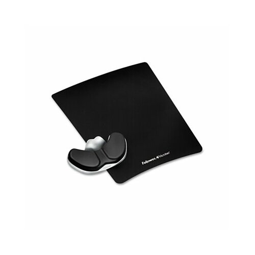 Fellowes Mfg. Co. Professional Series Mouse Pad with Palm Support, Graphite